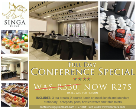 Singa   Full Day Conf Special