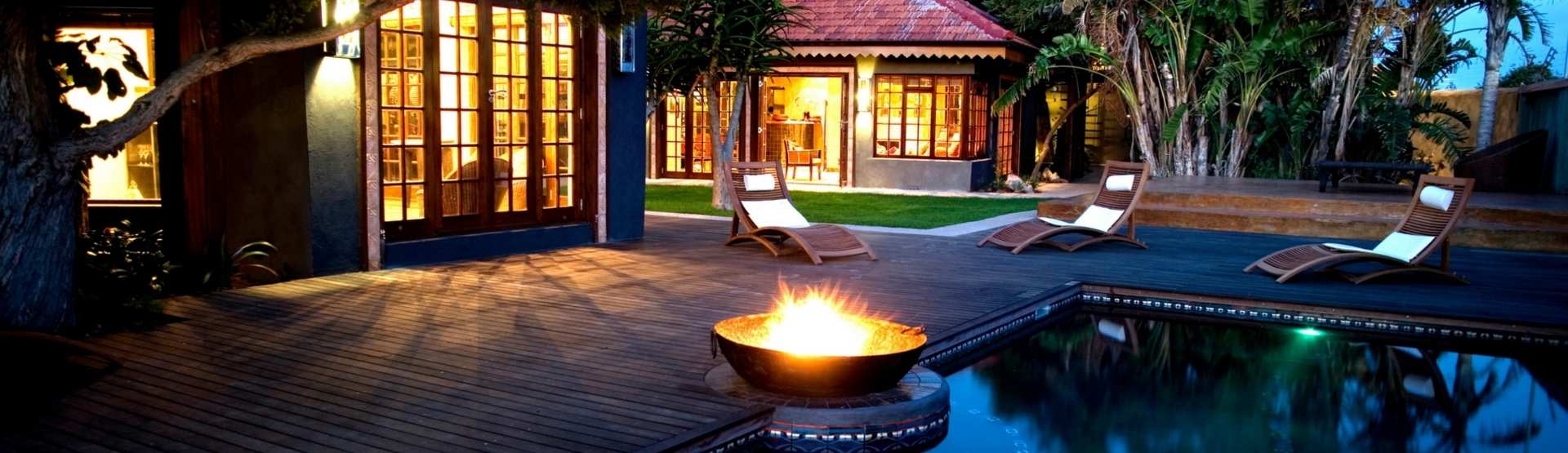 Singa Town Lodge Luxury Accommodation Port Elizabeth Evenings